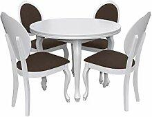 Esstisch Stuhl Set RB05 Essgruppe, Tischgruppe,