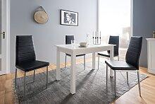 Esstisch Weiß Esstisch Weiß Holzwerkstoff Modern