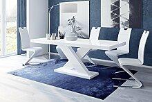 Esstisch XENON Tisch ausziehbar in Super Hochglanz