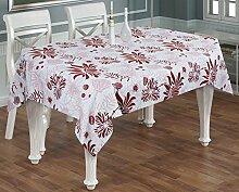 Esstisch Zubehör Baumwolle Tischdecken Rechteckig Indische Dekoration Größe- 140 cm x 180 cm