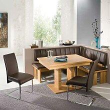 Esszimmer Sitzecke aus Kernbuche Massivholz Braun