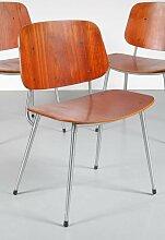 Esszimmer Stuhl aus Schichtholz von Børge