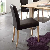 Esszimmer Stuhl in Braun Eiche Massivholz (2er Set)
