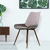 Esszimmer Stuhl in Fliederfarben und Braun