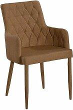 Esszimmer-Stuhl mit Armlehnen Bettina