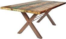 Esszimmer Tisch im Shabby Chic Design Sheesham