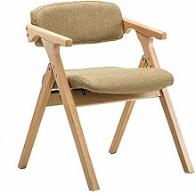 Esszimmerstühle Klappbarer Rückenlehnenstuhl aus