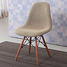 esszimmerstuhl Kreativer Kaffee-Hocker Modernes einfaches Hauptplastik-Esszimmer-Stuhl-Rückenlehne beiläufiger Stuhl und Stühle esstisch stühle ( Farbe : 3# )