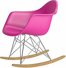 Esszimmerstuhl Stuhl Sitzgruppe Esstisch Sessel Stuehle Schaukelstuhl Rosa