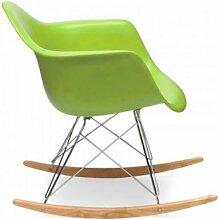 Esszimmerstuhl Stuhl Sitzgruppe Esstisch Sessel Stuehle Schaukelstuhl Gruen