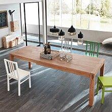 Esszimmertisch mit Eiche furniert ausziehbar