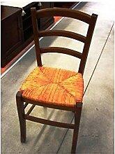 Estea Möbel–4Stück Stuhl Stühle Holz Paesana COL Walnuss Küche Esszimmer Bar Restaurant–111004838656
