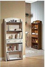Estea Möbel–Bücherregal Holz verschiedene