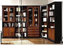 EsteaMobili Bücherregal Eck Modular Massivholz