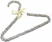 Estellani® Kristall Perlenkleiderbügel – Luxus Kleiderbügel Kinder