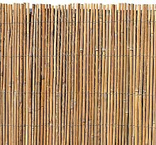 ESTEXO Bambusmatte - Sichtschutzzaun, Gartenzaun,