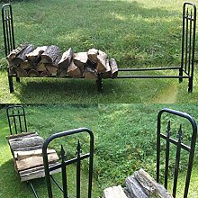Estexo Home & Garden Design Brennholz-Regal