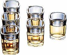 ESTK Crystal Whisky Gläser, Set Mit 6 Scotch