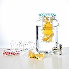 esto24® Hochwertiger Saftspender Wasserspender