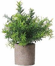 Estyle Fashion Zubehör Gras Gefälschte Pflanzen