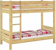 Etagenbett für Erwachsene 90x200 Nische 100 teilbar Rollrost Matratzen 60.16-09 T100 M