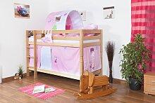 Etagenbett für Kinder - Buche Massivholz 90x200
