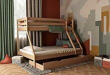 Etagenbett für Kinder mit Bettkasten, Stockbett