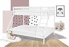Etagenbett für Kinder oder Erwachsene, Stockbett,