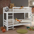 Etagenbett in Weiß Kinder
