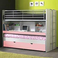 Etagenbett mit Schreibtisch Schreibtisch