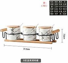 etagengewürzständer aus küchenregal Glasset