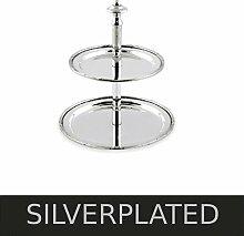 Etagere Frankfurt H 20 cm Silber Plated versilber