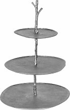Etagere Hutchins Bloomsbury Market Farbe: Silber