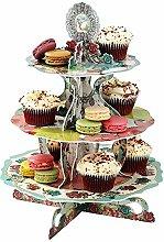 Etagere Vintage Teaparty Teatime Cupcake Ständer
