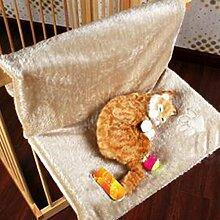 etbotu Creative Katze Hängematte steel-frame Struktur Balkon Pet Hänge Kissen Bett Ausruhen Sitz grau