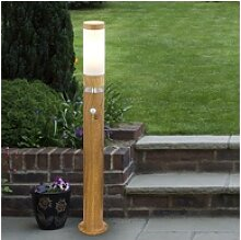 etc-shop LED Außen-Stehlampe, Stehlampe