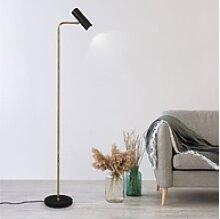 etc-shop Stehlampe, LED Steh Leuchte Spot Strahler