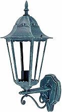 Etc-shop - Wand Außen Lampe ALU Laterne rustikal