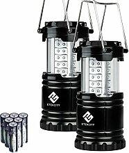 Etekcity Campinglampe Laterne zusammenklappbar 30