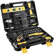 ETEPON 78PCS Werkzeugkoffer,Werkzeug Set für Home