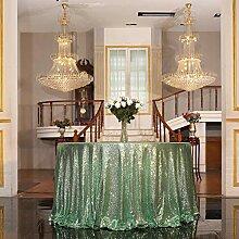 Eternal Beauty Pailletten-Tischdecke Hochzeit