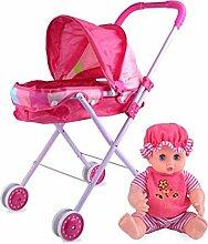 Eternitry Puppe Kinderwagen Spielzeug Mädchen