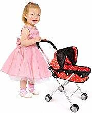 Eternitry Puppe Trolley Baby Simuliert Kinderwagen