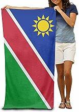ETGBFH Bunte Strandtücher Namibia Flagge, 100%