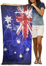 ETGBFH Strandtücher mit Australien-Flagge, 100%