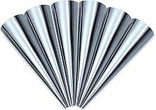 ETGtek 2Set Set mit 3 Stück Konische Aluminiumlegierung Schlauch Rollen Danish Werkzeuge Backen-Kuchen-Form
