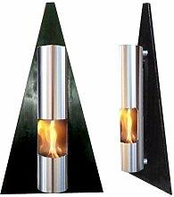 Ethanolkamin und Gelkamin Wandkamin Modell