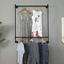 Ethemiable Industrieller Vintage-Kleidungsständer