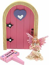 Ethereal realm- Welcome Pink Fairy Tür & Fairy Figur