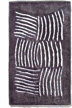 Ethna Teppich 60x100 dunkelgrau